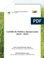 CARTILLA POLITICA AGROPECUARIA_2010_14