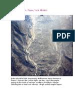 Pecos Impact Structure, Pecos NM