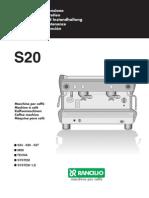 s20 Uso Manutenzione 5lingue