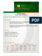 weekly report 10.09.2011
