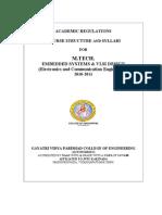 M.TECH-ES&VLSI-2010-11 GVP