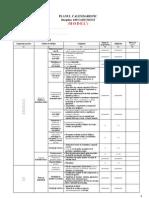 Clasa VII - EFS - Planul Calendar is Tic Sem Est Rial