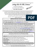 Pi Phi Newsletter August 2011