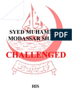 Syed Muhammad Modassar Shahid-Challenged His B.a Part I Result