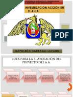 PROCESO DE INVESTIGACIÓN ACCIÓN EN EL AULA