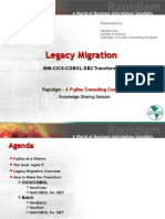 Legacy Migration IBM CICS COBOL DB2 Transformation