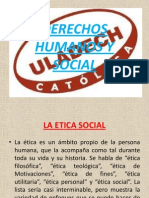Derechos Humanos y Social