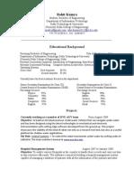 Resume(Rohit Kumra)