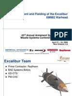 28231701 Excalibur XM982 Warhead
