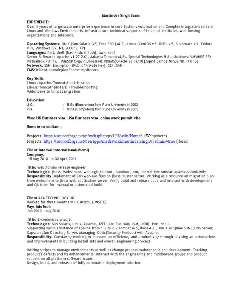Mastinder Singh Saran | Apache Http Server | Linux