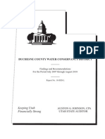Duchesne County Water Conservancy District Audit