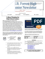 Senior Newsletter 2012