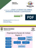Universidad La Gran Colombia Operador Región 3 Centrosur