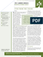 Summer 2005 Newsletter - Healthcare and Therapeutic Design Professional Practice Network