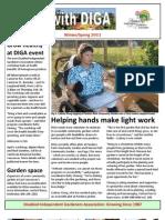 Spring 2011 Newsletter - Disabled Independent Gardeners Association