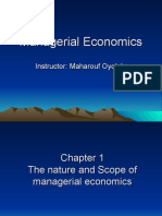 Managerial Economics (Chapter 1)