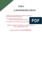 Task 6 Business Docs