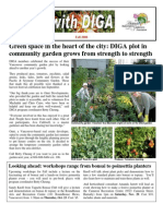 Fall 2008 Newsletter - Disabled Independent Gardeners Association