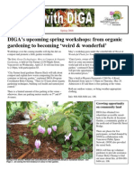Spring 2008 Newsletter - Disabled Independent Gardeners Association