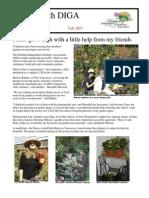 Fall 2007 Newsletter - Disabled Independent Gardeners Association