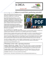 Summer 2007 Newsletter - Disabled Independent Gardeners Association