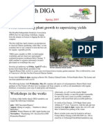Spring 2007 Newsletter - Disabled Independent Gardeners Association