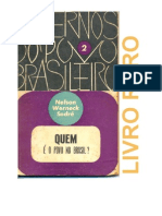 NELSON WERNECK SODRE - Quem é o Povo no Brasil