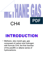 Preparation of Methane Gas