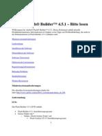 Adobe Flash Builder 4.5.1 - Bitte Lesen