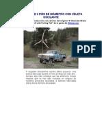 Turbina de 9 Pies de Dimetro