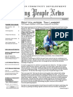 Growing People Newsletter - Spring 2003
