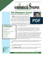 Rep. Hutchinson Environmental Synopsis - September 2011