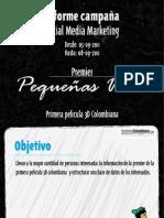 Informe Campana SMM Pequeñas Voces Creativos