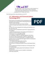ERO and ICT