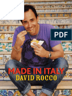 Recipes from Made in Italy by David Rocco