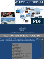 Factors Aff Toursm