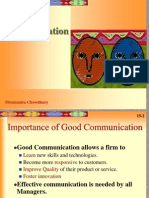 B.communication
