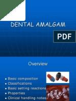 Lecture 1 & 2- Dental Amalgam  (Slides)