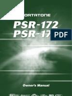Yamaha PSR 170 Owners Manual