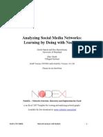 NodeXL Tutorial Draft