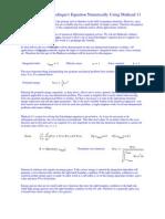 schrodinger equationsintro-ode