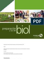 Preparación y uso del biol