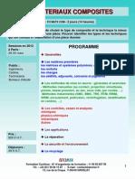Formation Continue Les Materiaux Composites 2012