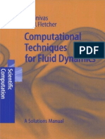 Computational Techniques for Fluid Dynamics Solutions Manual - Fletcher C.A