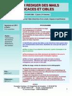 Formation Continue Rédaction mails - emails efficaces & ciblés 2012