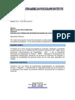 Propuesta Servicios de Poligrafía Latinamerican Polygraph Institute-ESCUELA DE FORMACIÓN INTERDISCIPLINARIA DE COLOMBIA