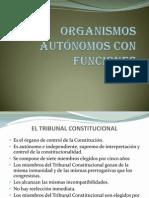 9 ...ORGANISMOS AUTÓNOMOS CON FUNCIONES