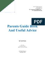 חוברת הדרכה להורים לבניית תוכנית לעיצוב התנהגות לילדם (באנגלית)