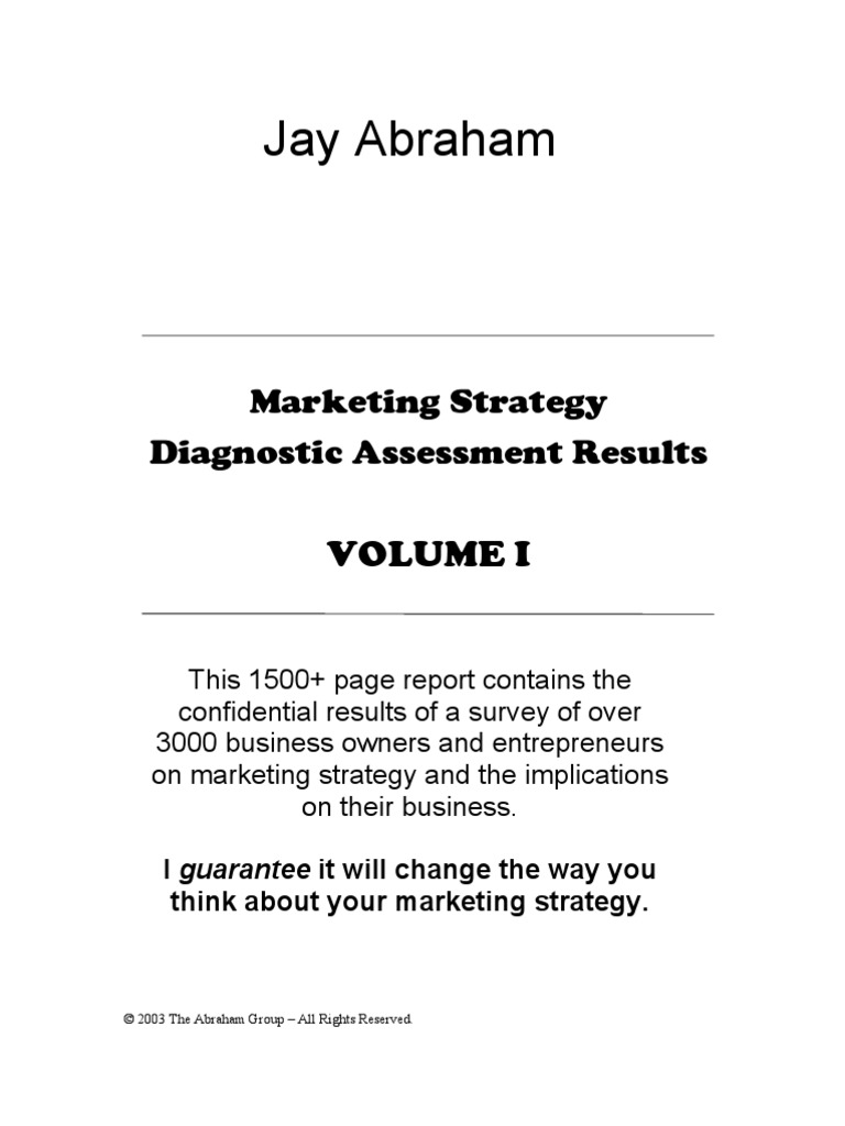 Jay abraham strategy results vol 1 goal strategic management fandeluxe Images