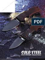 Cold Steel Catalogue Price List 2010